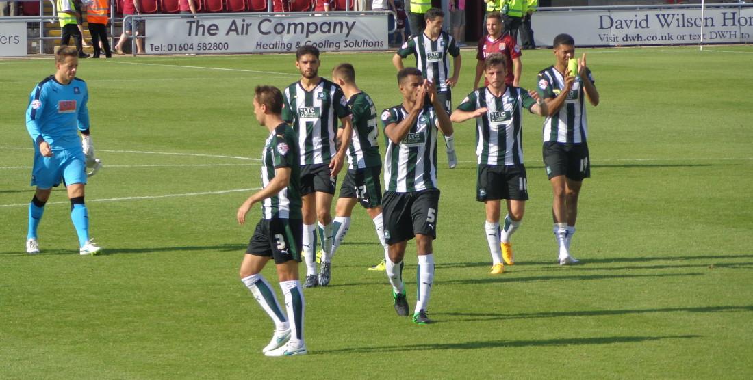 Northampton 0-2 Argyle