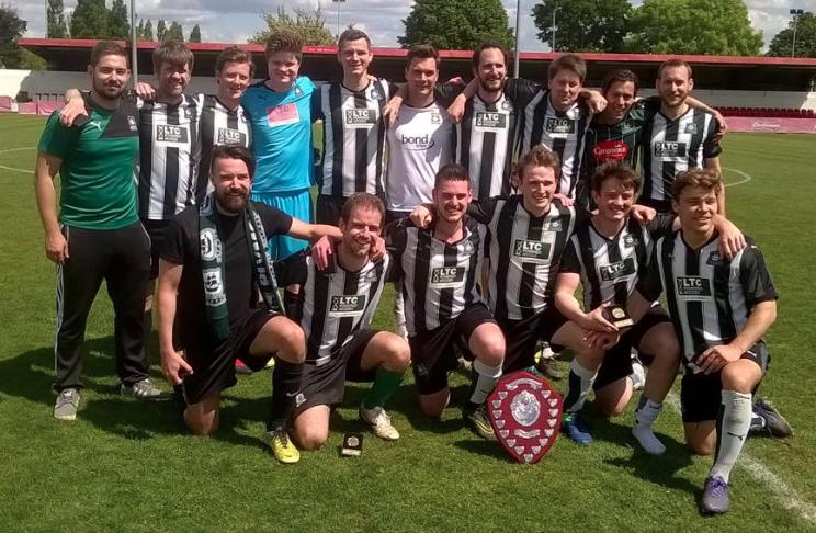 Winners at Wembley!