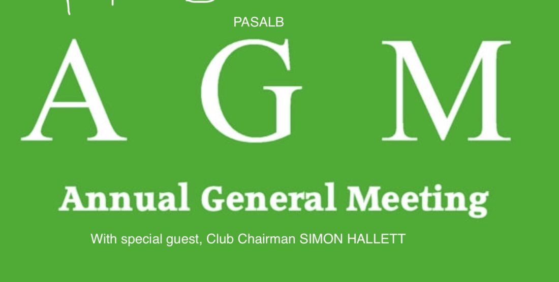 AGM 2019 with special guest