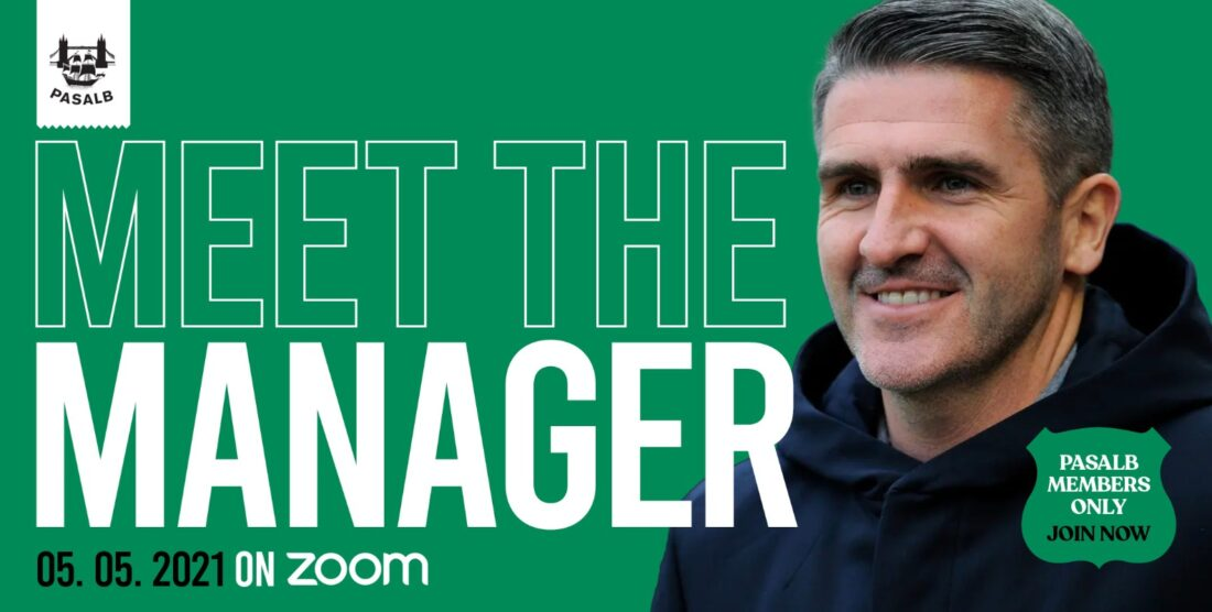 PASALB Meet the Manager -2021 members event!